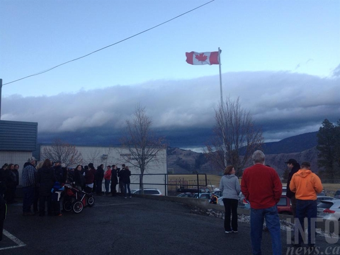 RL Clemitson Elementary School in Kamloops was in lockdown Dec. 9, 2014.