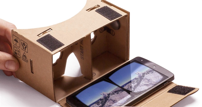 Google Cardboard is a DIY virtual reality system, kind of.