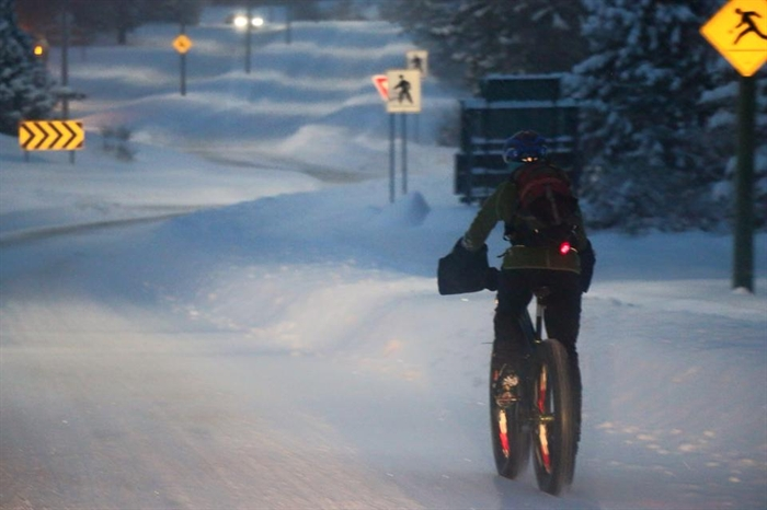 The diehards will even commute in heavy snowfall, like what we had on Monday, Jan. 5, 2015.
