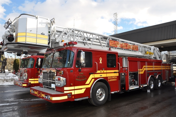 The Kelowna Fire Department has had their new $1.2-million ladder truck in service for 10 days.