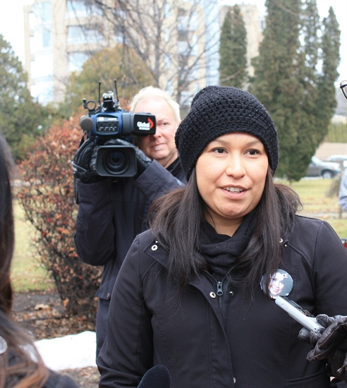Coola Louis, Union of B.C. Indian Chiefs Women's Representative, said she expects to see regular rallies for justice as the Roxanne Louie case continues