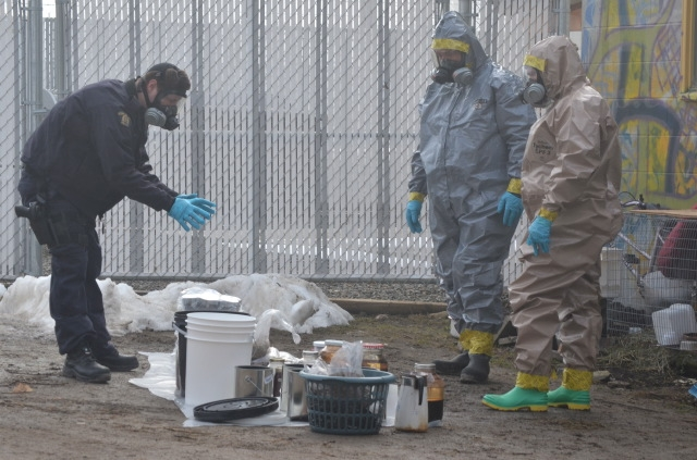 The HAZMAT unit departed Friday, Feb. 20, at which time residents were allowed to go inside and pack up remaining possessions.