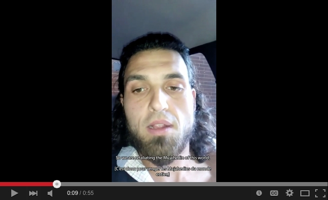 A cell phone video made by Michael Zehaf-Bibeau before the shooting was released March 6, 2015.