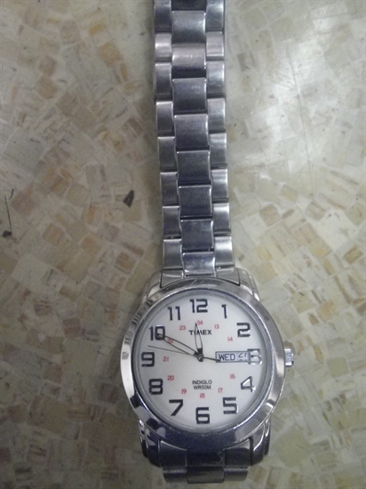 The watch the man was wearing when his body was found.