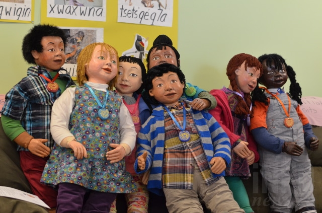 Three sets of seven dolls will be moving into local childhood education centres.