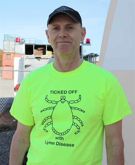 Penticton resident Ken Hope realized he had Lyme disease after being tested in the U.S.