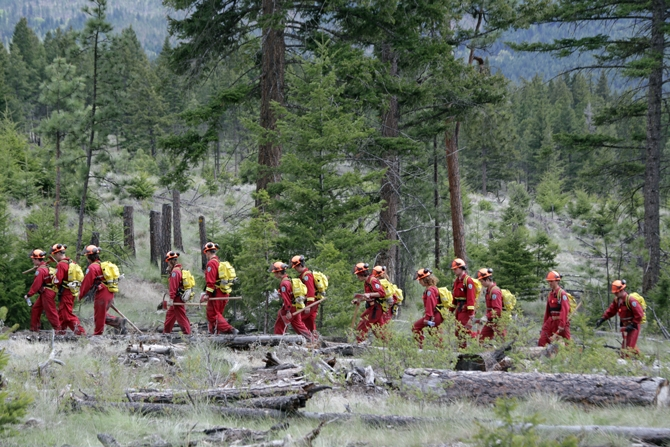 More than 200 new recruits will go through bootcamp this month as B.C. Wildfire prepares for the busy season ahead.