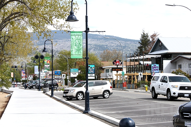 A simple walk along Penticton's revitalized Lakeshore walkway might be a way to pass some time this weekend.