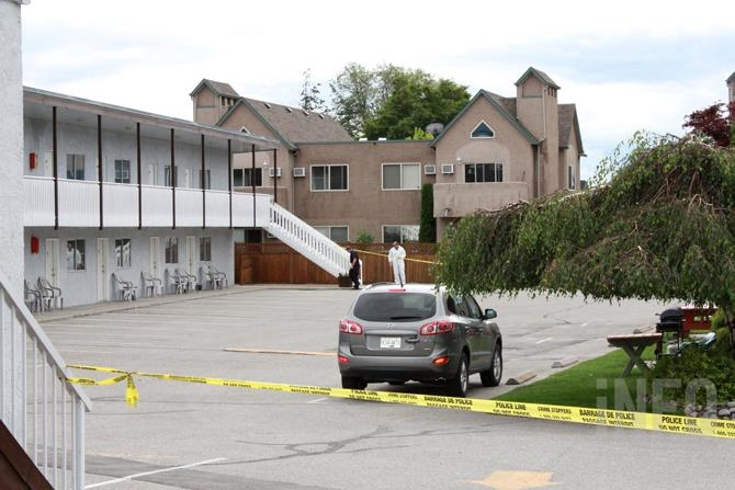 Police are investigating a homicide near the Golden Sands Resort on Lakeshore Drive in Penticton.