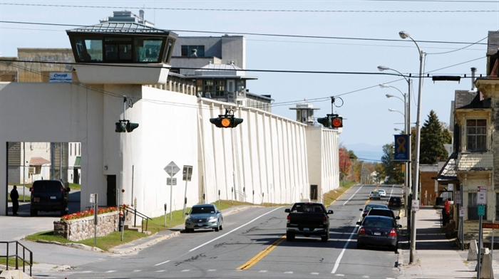 The Clinton Correctional Facility in Dannemora, N.Y. is shown in this file photo from Oct. 6, 2011.