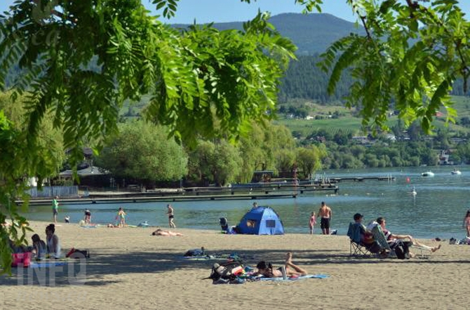 Extreme heat about to settle into the Thompson Okanagan