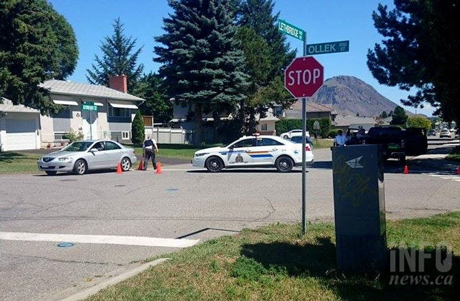 There is a heavy police presence on Lethbridge Avenue this afternoon, July 2, 2015.