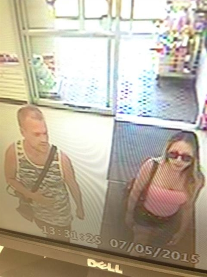 These suspects are wanted for stealing $1,600 in markers from Michaels in Kamloops.