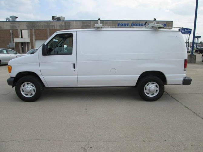 A van similar to the one stolen overnight July 14.