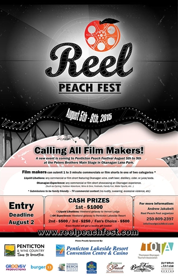 Deadline for submissions to ReelPeachFest is coming up fast.