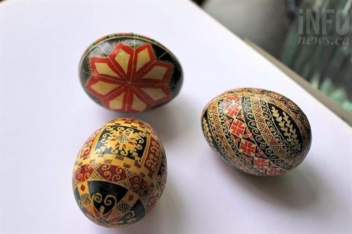 Tillie was an exceptional artist - here are her hand-painted eggs.
