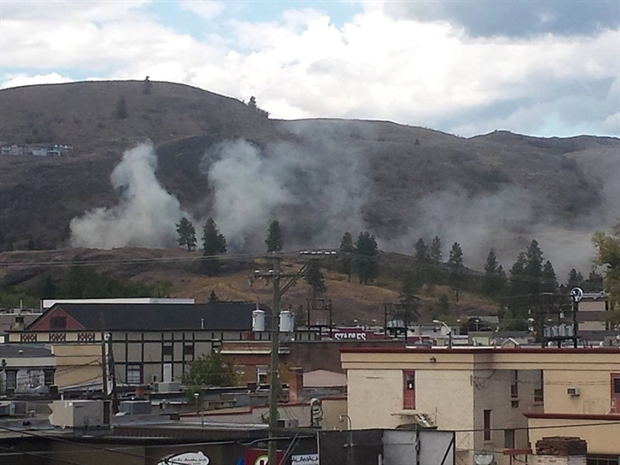 Smoke from a house fire in the 3900-block of Alexis Park Drive in Vernon can be seen in this photo posted to Facebook, Sunday, Sept. 6, 2015.