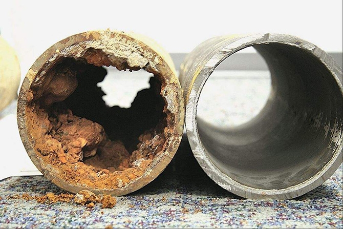how to stop water pipes from making noise