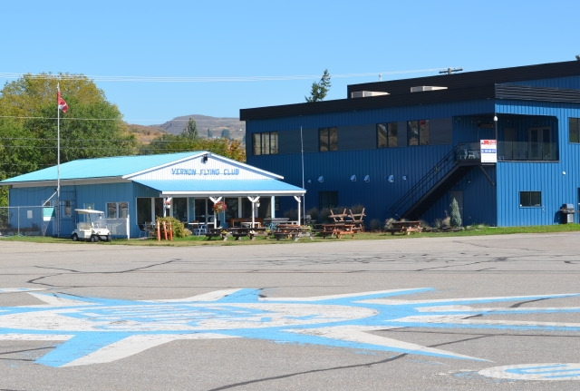 The Vernon Airport has an active flying club of around 150 members.