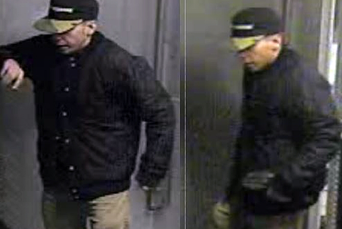 This suspect was caught on surveillance after he broke into a West Kelowna Arby's and stole food and cash.