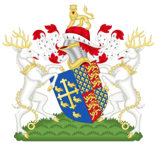 The Boy King's coat of arms