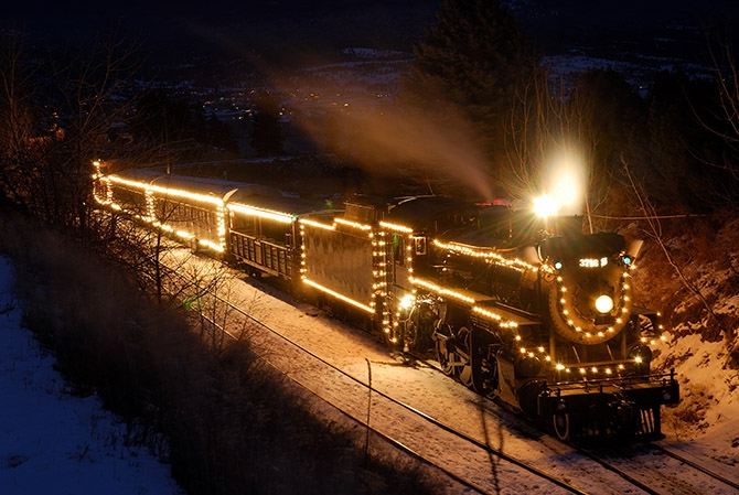 There are only a few tickets left for this year's schedule of Christmas Express trains in Summerland.