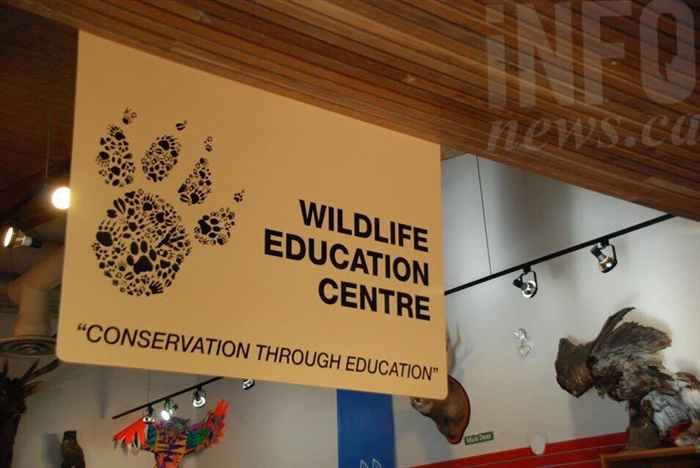 The Education Centre, where kids can learn about animals in the park and sign up to be part of the Wildlife Rangers.