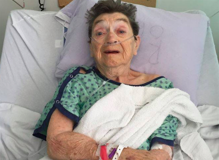 Houston, after she was assaulted by a fellow care home resident in July 2015.