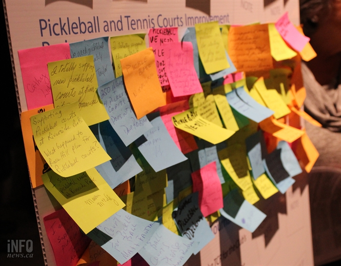 Pickleball support was the big draw for attendance at the Feb. 23 budget meeting.