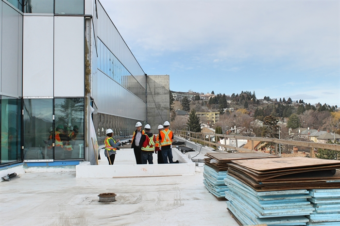 Students and staff alike will be able to enjoy a terrace space with views of the city .