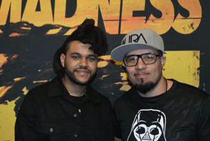 KnowleDJ has also toured with rapper The Weeknd.