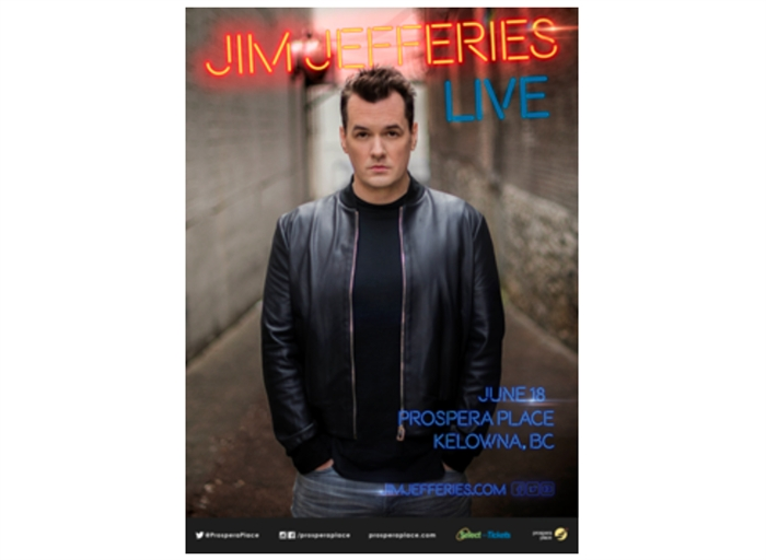 Jim Jefferies Tour Kelowna