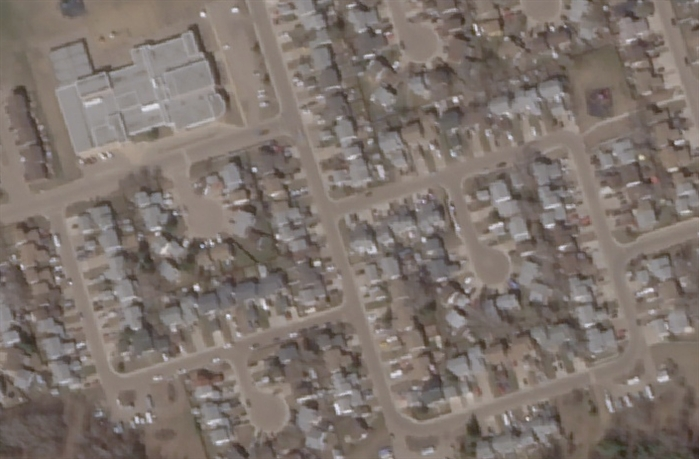 Abasand area of Fort McMurray, May 1, 2016.