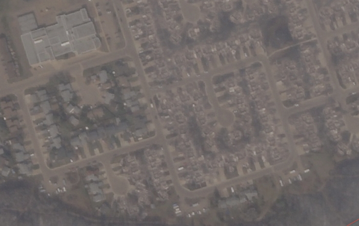 Abasand area of Fort McMurray, May 5, 2016.