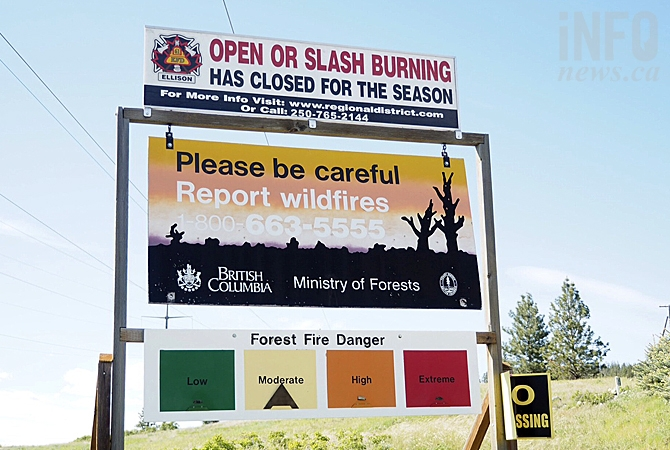 Whoever lit the fire in Ellison this week had to drive past this sign less than a kilometre from the property on Farmers Drive.