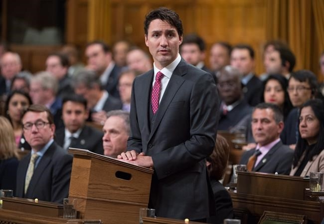 Prime Minister Justin Trudeau formally apologizes for a 1914 government decision that barred most of the passengers of the Komagata Maru from entering Canada, in the House of Commons on Parliament Hill in Ottawa on Wednesday, May 18, 2016.