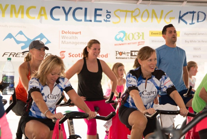 The Cycle for Strong Kids will have a special guest this year – Olympic medalist Kelsey Serwa who will be signing autographs at 9 a.m.