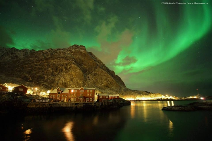 Aurora in Norway.