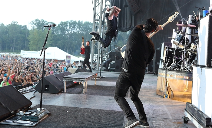 Papa Roach is coming to Penticton on Saturday, Sept. 10, 2016.