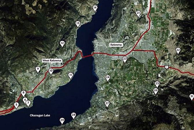 Many of the Central Okanagan's best hiking trails now have uniform difficulty ratings as well as other recent improvement.