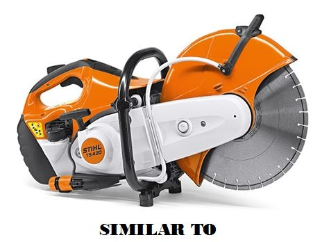 A Stihl chop saw similar to the one pictured was stolen out of a work vehicle earlier over the weekend.