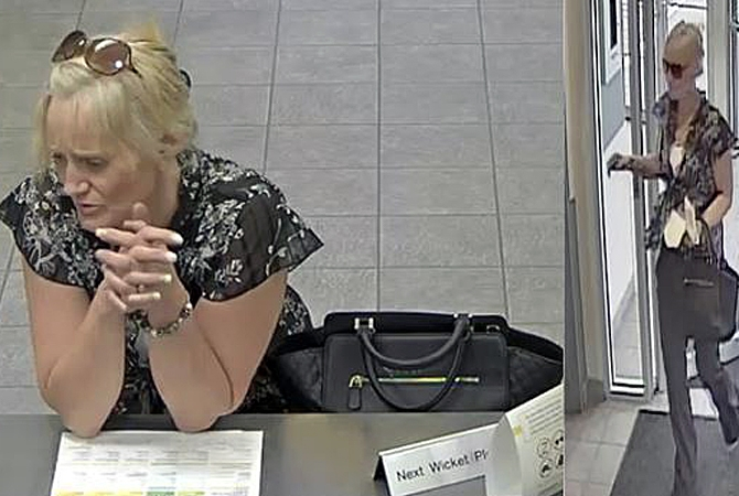 On June 17 a woman entered a bank and using a driver's licence, attempted to open the account. A banker noticed discrepancies and called the client, who confirmed her wallet had been stolen last year.