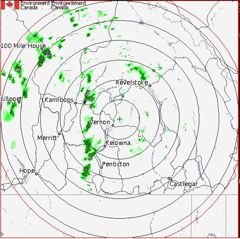 Environment Canada is predicting a severe thunderstorm could hit the region July 14, 2016.