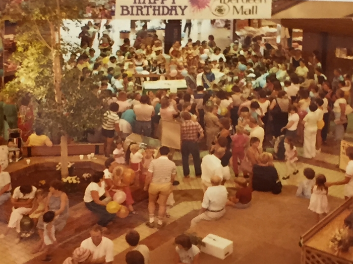 Aberdeen Mall birthday celebration 1984.