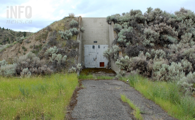 Kamloops has hidden WW2 naval bunkers, just thought you