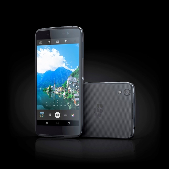 The new Blackberry DTEK50 is pictured in this contributed photo.