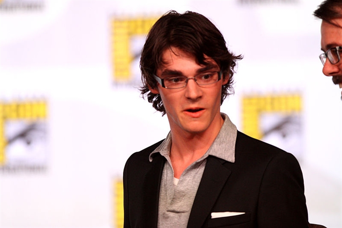 RJ Mitte, who plays the son on Breaking Bad, is one of the actors in a new movie being filmed in Vernon called The Recall.