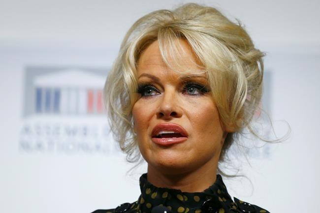Baywatch Star Pamela Anderson Calls On Alberta Premier