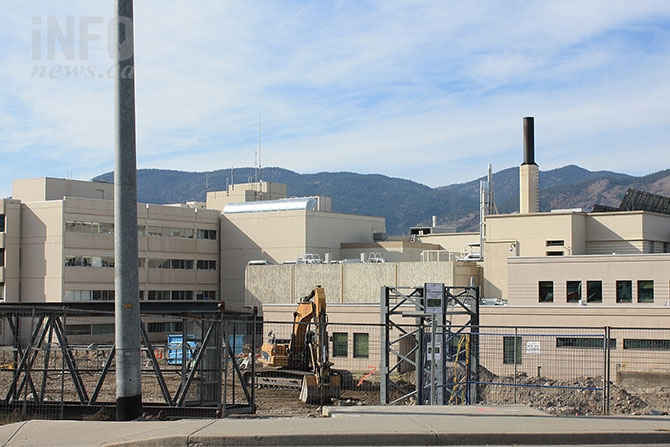 Preliminary construction work on the Penticton Regional Hospital patient care tower has begun. The project has a completion date in 2019.