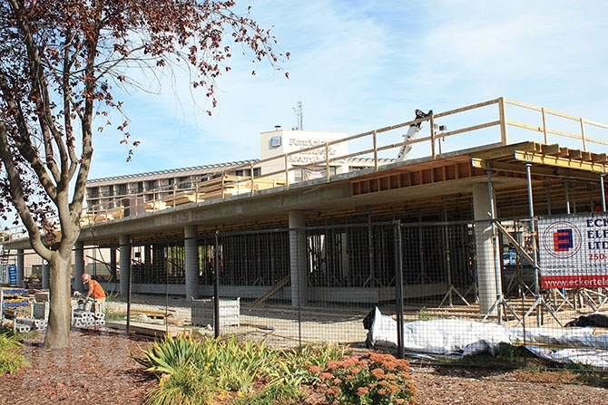 Penticton Lakeside Resort is well underway with their 70 room expansion.